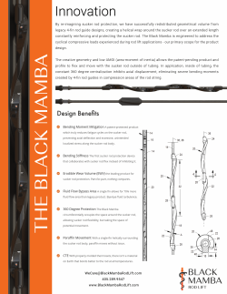 Black Mamba Rod Lift - The Black Mamba - For Compression